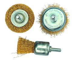 Щетки-крацовки для дрелей и шлифовальных машин
