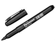 Маркер перманентный, пулевидный, наконечник 3,0 мм, цвет черный (шт.)