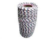 Фал плетеный полипропиленовый, D6мм, L 100м, 16-прядный, 320кгс, с полипропиленовым сердечником (бух