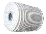 Фал плетеный капроновый, D8мм, L 100м, 16-прядный, 1000кгс, с капроновым сердечником, (бухта)