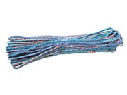 Шнур вязаный полипропиленовый, D4 мм, L20м, 60-70 кгс, с полипропиленовым сердечником (цветной) (шт.
