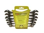 Набор ключей гаечных рожковых, углеродистая сталь, 6 предметов (Hobbi) (уп.)